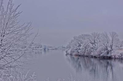 Art Print featuring the photograph First Frost by Lynn Hopwood