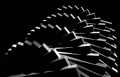 Pattern Photograph - First Gear by Hans-wolfgang Hawerkamp