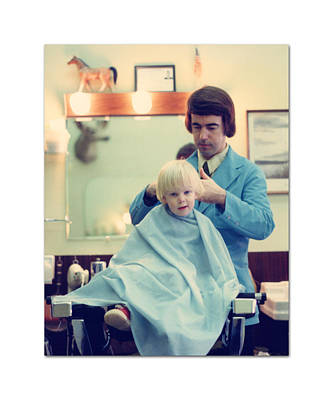 Photograph - First Haircut by Jack Pumphrey