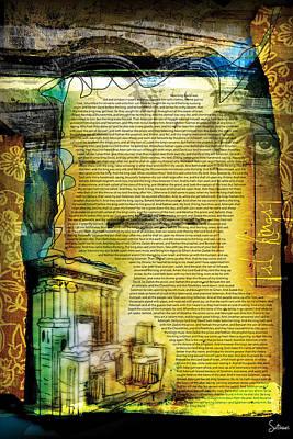 Crucify Digital Art Digital Art - First Kings 1 by Switchvues Design