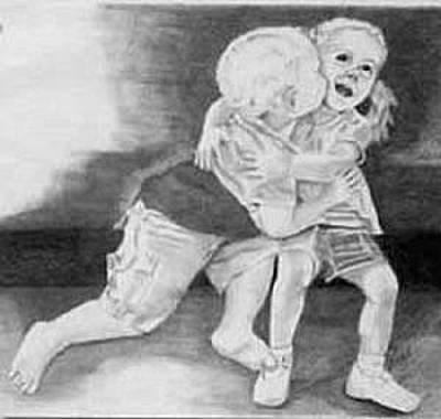 Drawing - First Kiss by Phyllis Anne Taylor Pannet Art Studio