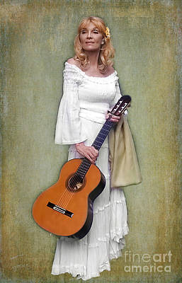 Photograph - First Lady Of Guitar by Barbara McMahon