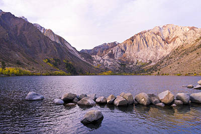 Convict Lake Photograph - First Light At Convict Lake by Priya Ghose