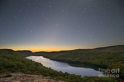 First Light At Lake Of The Clouds Art Print by Twenty Two North Photography