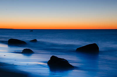Photograph - First Light At Lucy Vincent Beach by Steve Myrick