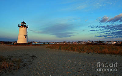 Photograph - First Light Edgartown by Butch Lombardi