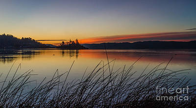 Clearlake Photograph - First Light by Mitch Shindelbower