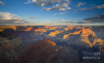 Colorado River Photograph - First Light On The Colorado by Mike  Dawson
