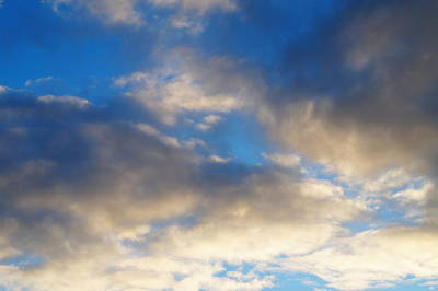 Impressionist Landscapes - First Morning Clouds of Fall 2013 by Daniel Thompson