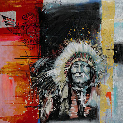 Painting - First Nations 11 by Corporate Art Task Force
