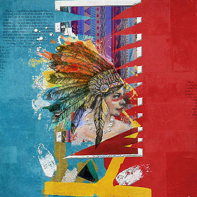 First Nation Painting - First Nations 31 by Corporate Art Task Force