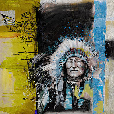 Painting - First Nations 33 by Corporate Art Task Force