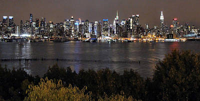 Photograph - First Night In The Big Apple by Rory Sagner