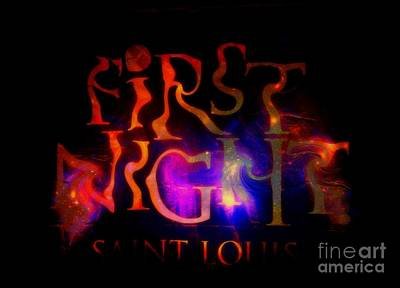 First Night Sign 2 Art Print