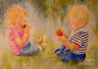 Painting - First Picnic by Beatrice Cloake