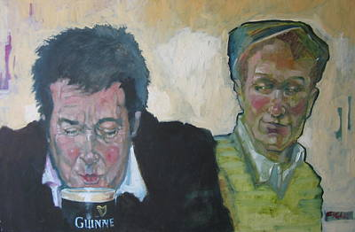 Painting - First Pint by Kevin McKrell