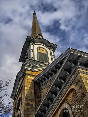 Photograph - First Presbyterian Church Of Newton New Jersey by Mark Miller