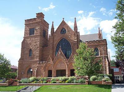 Photograph - First Presbyterian Church Of Salt Lake City by Georgia Hamlin