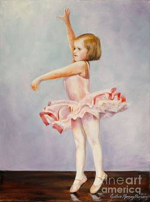Painting - First Recital by Cynthia Parsons