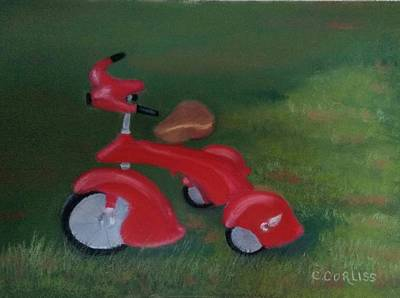 Pastel - First Ride by Carol Corliss