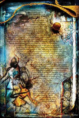 Crucify Digital Art Digital Art - First Samuel 31 by Switchvues Design