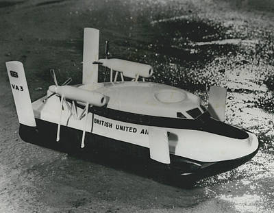First Scheduled Hovercraft Service Planned For July Art Print by Retro Images Archive