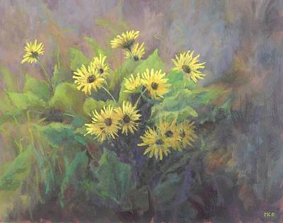 Painting - First Sign Of Spring by Marlene Kingman