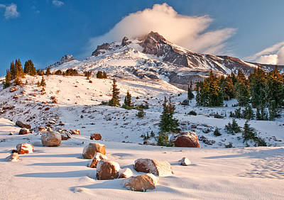 Royalty-Free and Rights-Managed Images - First Snow by Darren White