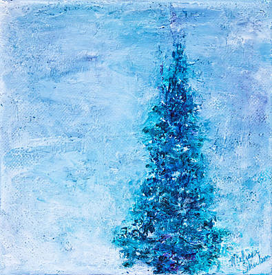 Mixed Media - First Snow by Melissa Sherbon