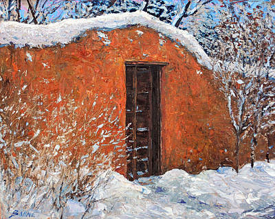 Painting - First Snowfall by Steven Boone