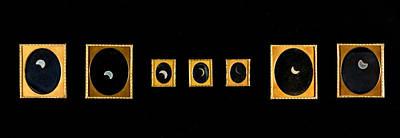 First Solar Eclipse Daguerrotypes, 1854 Art Print by Metropolitan Museum of Art