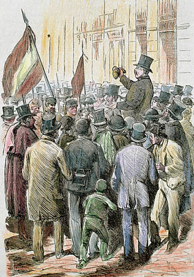 First Spanish Republic (february 11 Art Print
