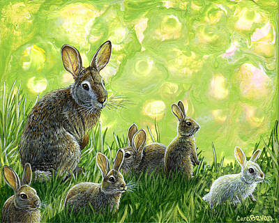 First Spring Original by Cara Bevan