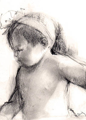 Candid Drawing - First Steps by Cecily Mitchell