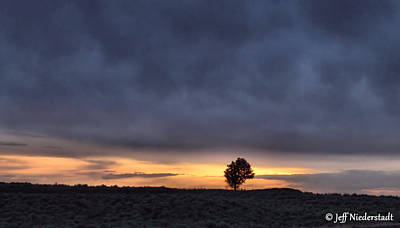 Photograph - First Sunset by Jeff Niederstadt