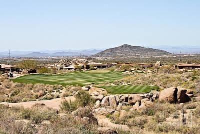 Arizona Golfer Photograph - First Tee by Scott Pellegrin