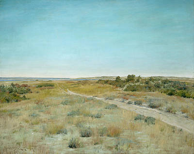 Prairie Sky Painting - First Touch Of Autumn by William Merritt Chase