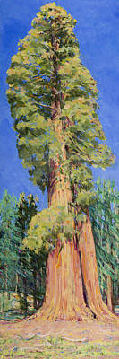 First Tree On Big Trees Trail Original by Joy Collier