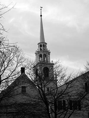 Photograph - First Unitarian Church In Newburyport by Mary Capriole