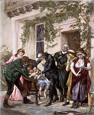 Photograph - First Vaccination, 1796 by Granger