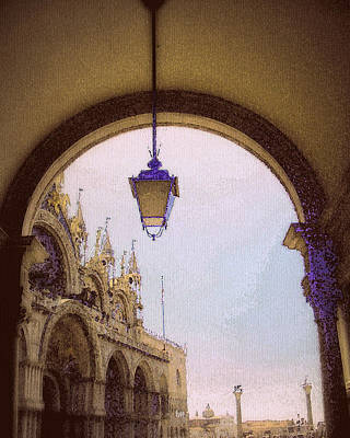 Photograph - first view of San Marco by Jodie Marie Anne Richardson Traugott          aka jm-ART