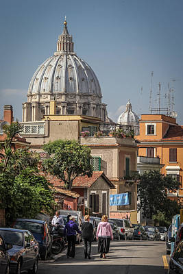 Photograph - First Walk To The Vatican - June 2 by Dwight Theall