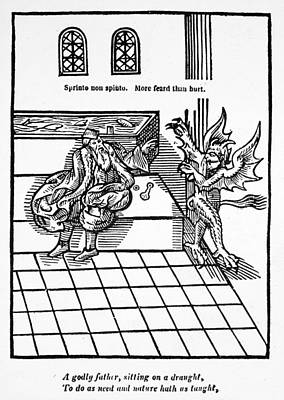 First Water-closet, 1596 Art Print by Granger