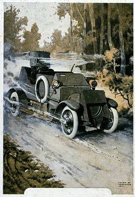 First World War Vehicle Art Print