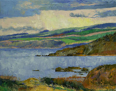 Landschaft Painting - Firth Of Clyde by Michael Creese