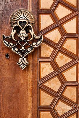 Photograph - Firuz Aga Mosque Door 04 by Rick Piper Photography