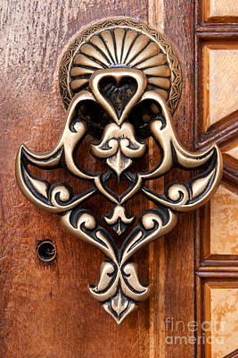 Photograph - Firuz Aga Mosque Door 05 by Rick Piper Photography