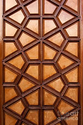 Photograph - Firuz Aga Mosque Door 06 by Rick Piper Photography