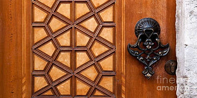 Photograph - Firuz Aga Mosque Door 07 by Rick Piper Photography