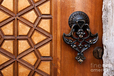 Photograph - Firuz Aga Mosque Door 08 by Rick Piper Photography